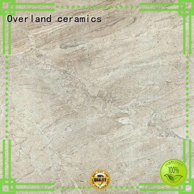 Overland ceramics travertine ceramic tile from China for kitchen