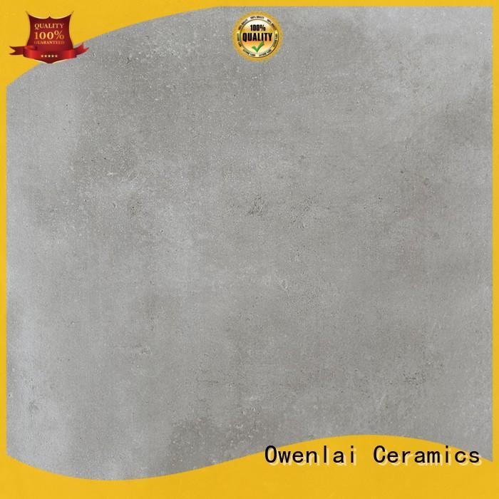 mosaic black cement tile supplier for garden