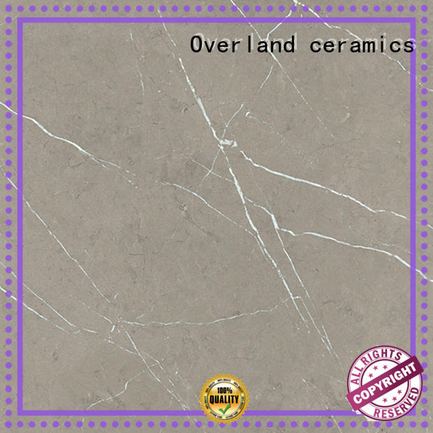 Overland ceramics floor marble tiles from China for livingroom