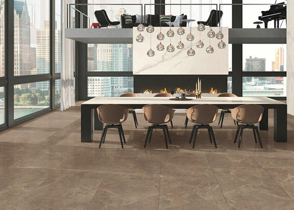Overland ceramics travertine ceramic tile manufacturer from China for pool