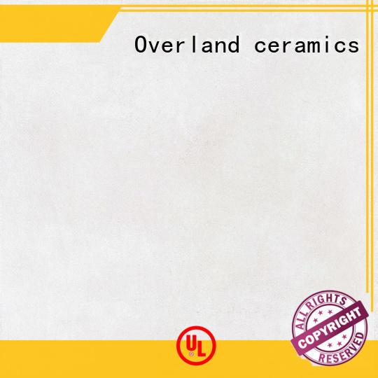 Overland ceramics glazed cement tiles design supplier for apartment