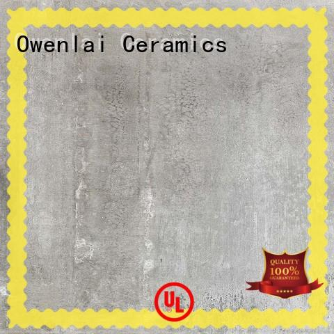 Overland outdoor floor plain cement tiles wholesale for apartment