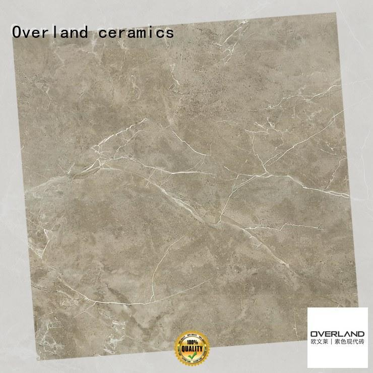 Overland ceramics natural ceramic tile from China for pool