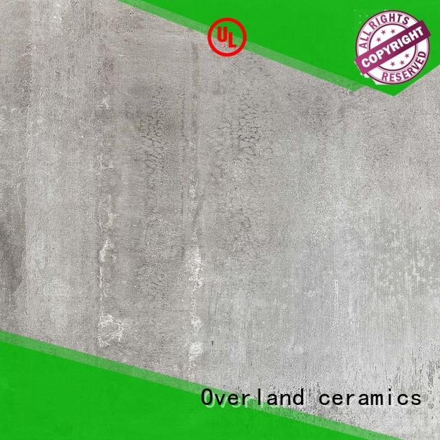 Overland ceramics backsplash grey and white cement tile supplier for home