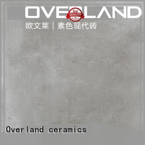 Overland ceramics history patterned cement tile supplier for apartment