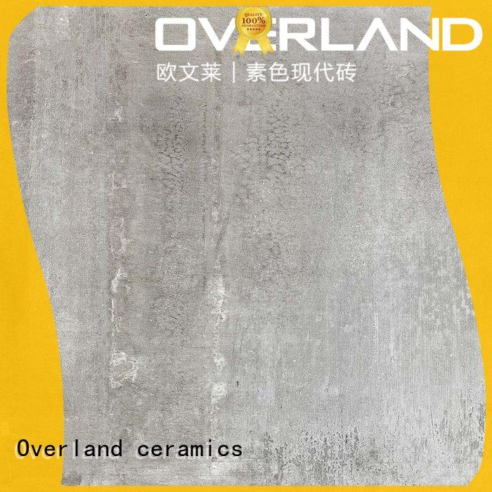 Overland ceramics strong outdoor cement tiles wholesale for hotel