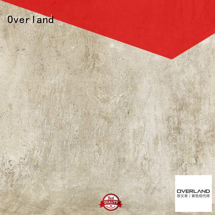 Wholesale silk stone cement tile Overland Brand