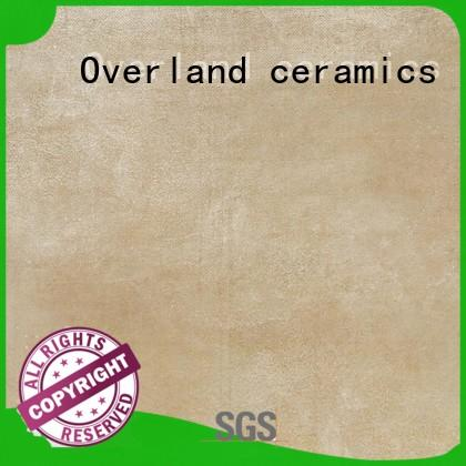Overland ceramics travertine ceramic tile from China for bathroom