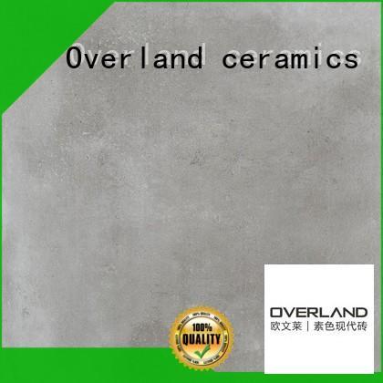 Overland ceramics outdoor floor cement tiles uk directly price for garden