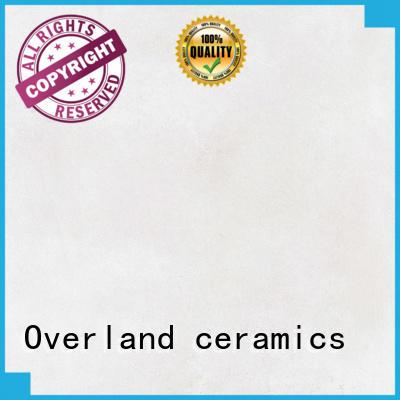Overland ceramics patterned floor floor tile cement wholesale for garden