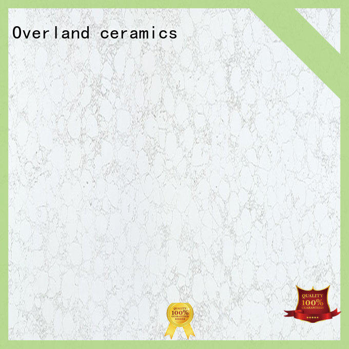 Overland ceramics black white granite worktop factory price for bathroom