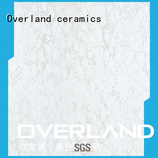 Overland ceramics bushboard porcelain tile flooring factory price for bathroom