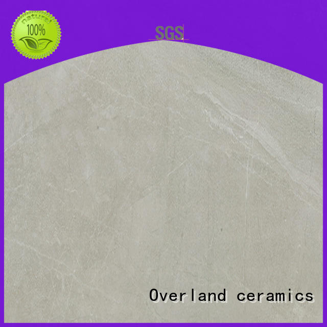 Overland ceramics high quality large marble tiles factory for home