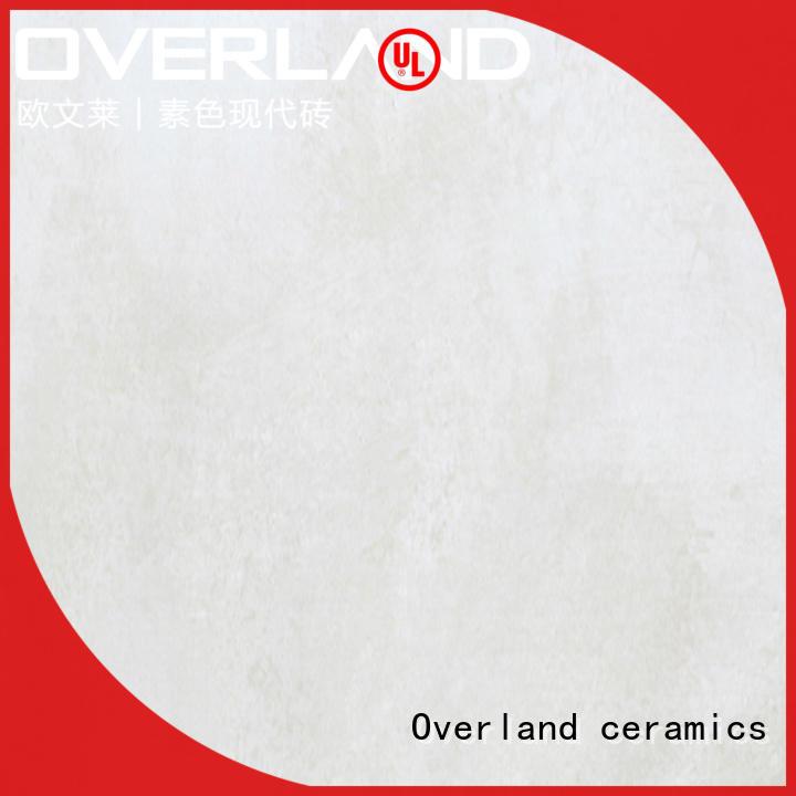Overland ceramics patterned floor cement tiles design supplier for garden