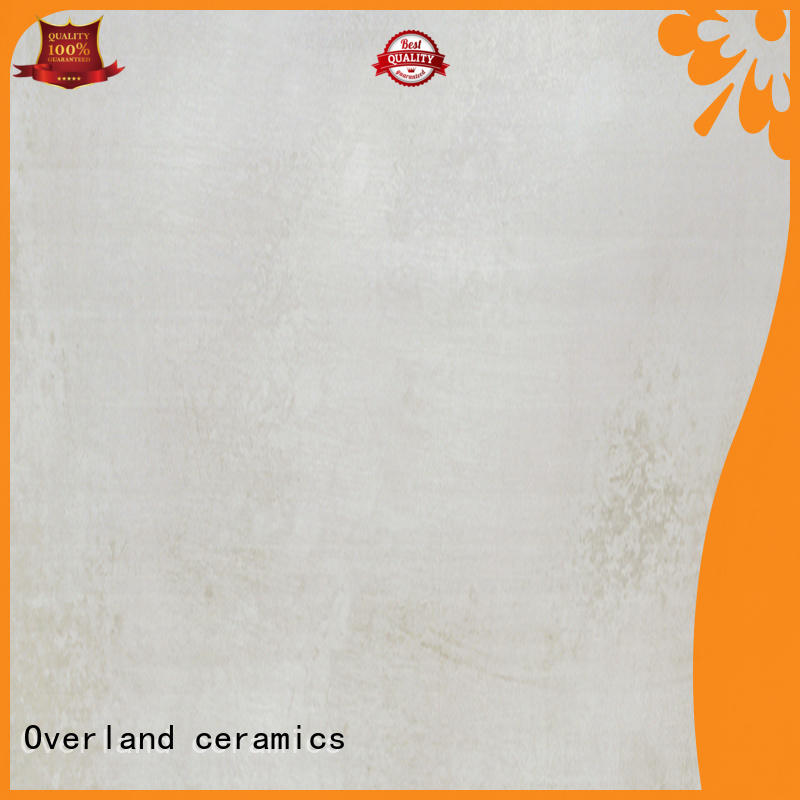 Overland ceramics concrete affordable cement tile wholesale for garden