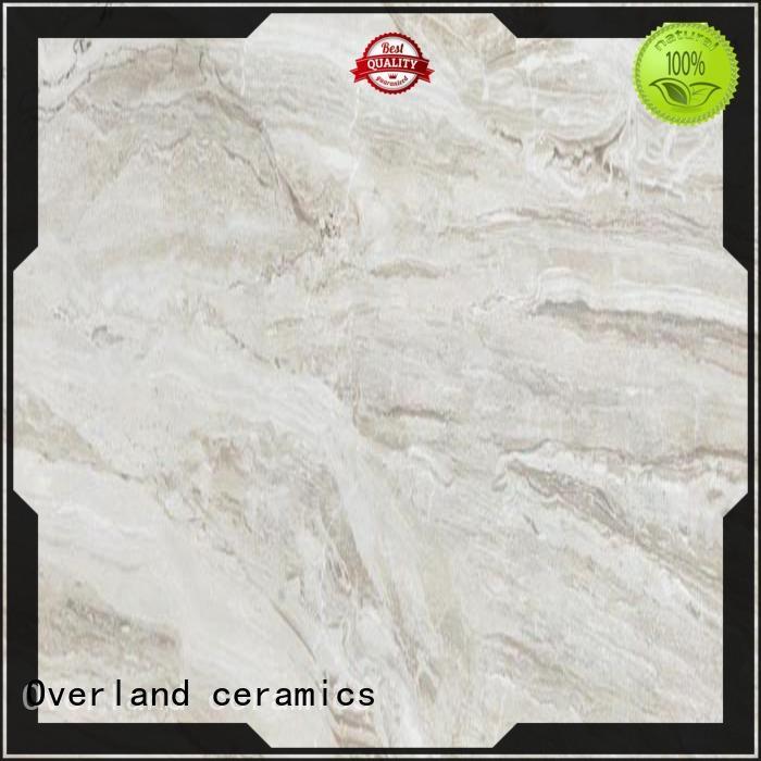 Overland ceramics best marble floor tile from China for livingroom