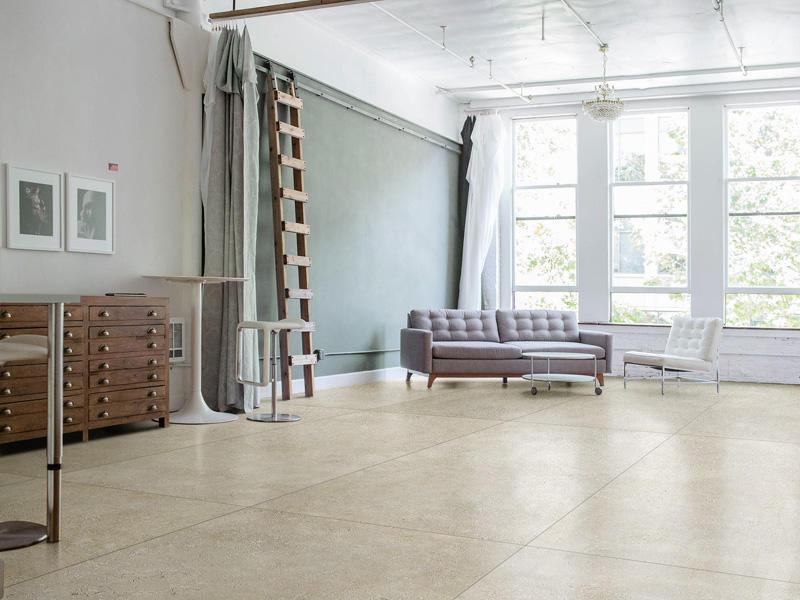 Overland durable limestone tiles light for home