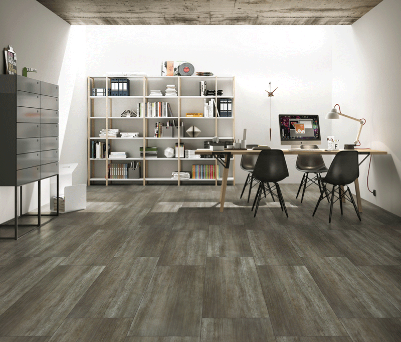 porcelain wood tile style for living room Overland-4
