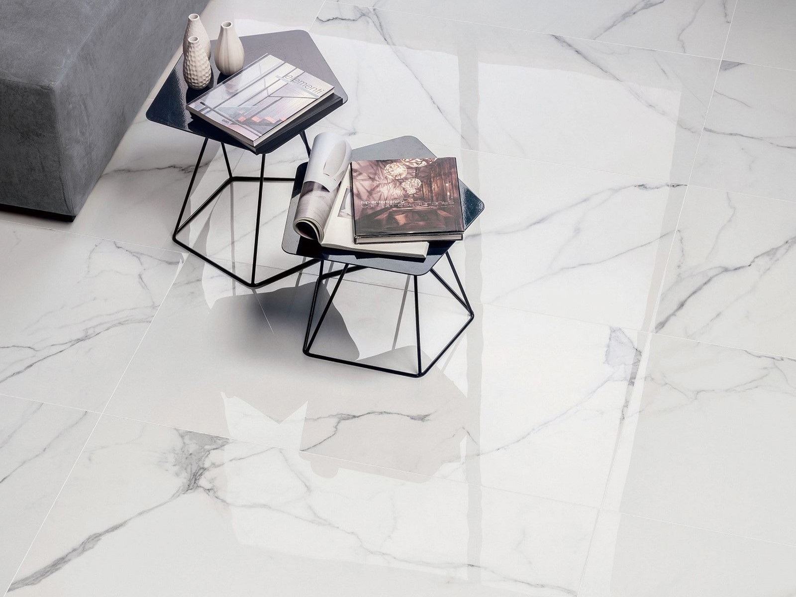 Overland ceramics best tumbled marble tile manufacturers for hotel-1