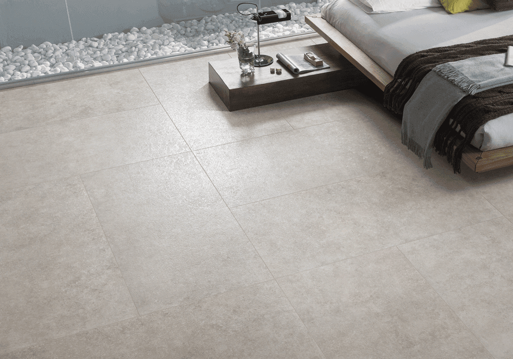 linoleum stone look ceramic tile blue for garage floor Overland