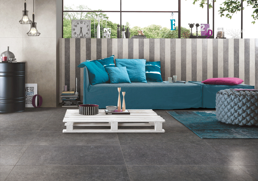 decorative bluestone floor tiles ceramic from China for kitchen-1