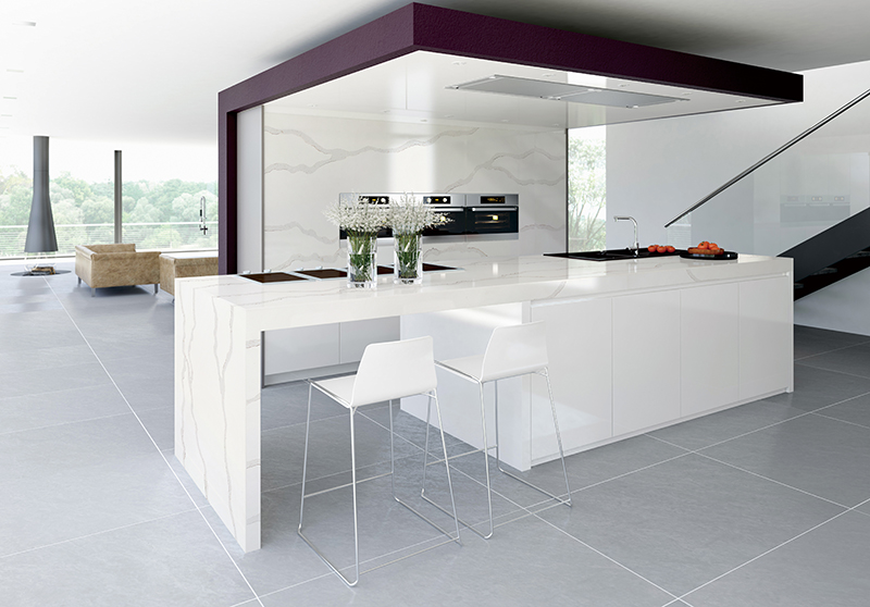 Overland ceramics solid white laminate kitchen worktops directly price for kitchen-4