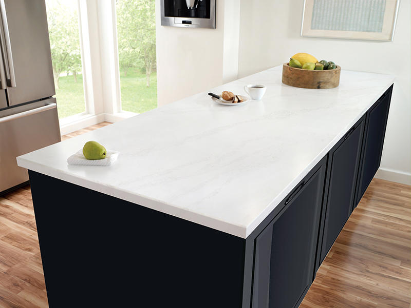 Overland upstands high gloss black kitchen worktops design for outdoor