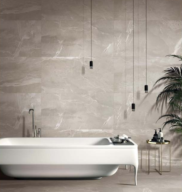 natural grey marble tile from China for garden-2