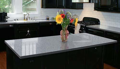 Overland ceramics quartz stone worktop design for apartment-4