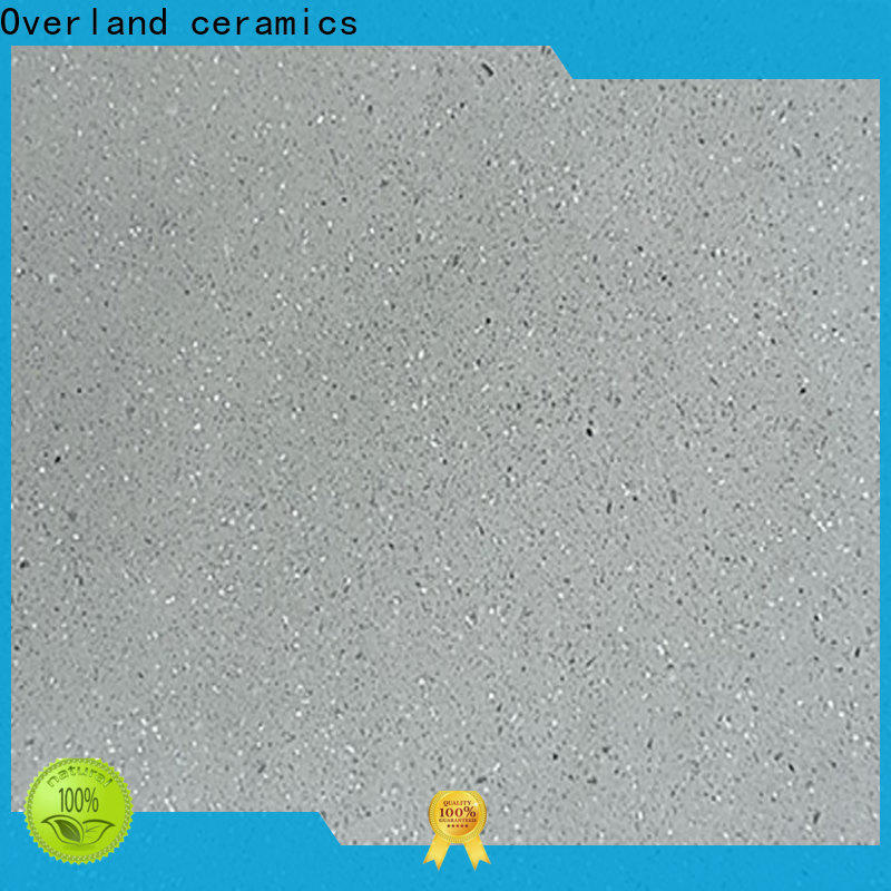 Overland ceramics cusotm quartz worktops prices supplier for kitchen