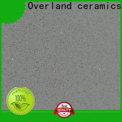 Overland ceramics wholesale quartz worktops factory for bathroom