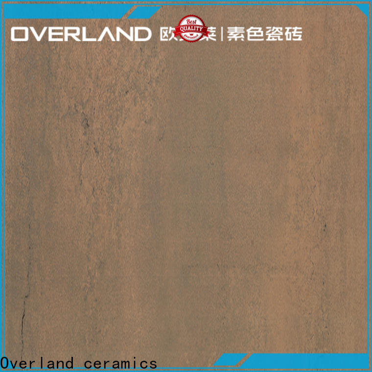 decorative overland porcelain tiles supplier for hotel