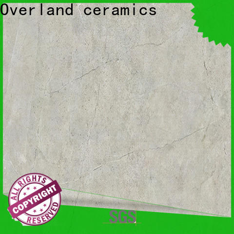 Overland ceramics wholesale black marble tile bathroom price for garden