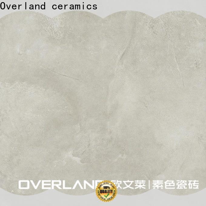 Overland ceramics decorative best tile for bathroom floor for sale for hotel