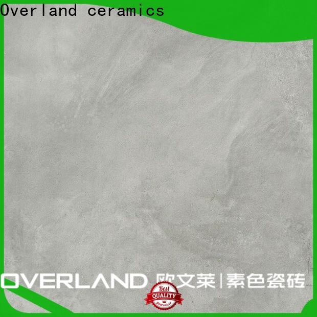 Overland ceramics wholesale silk porcelain tile price for home