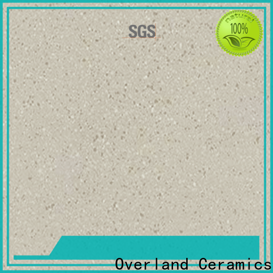 Overland ceramics high quality unglazed porcelain floor tile design for bedroom