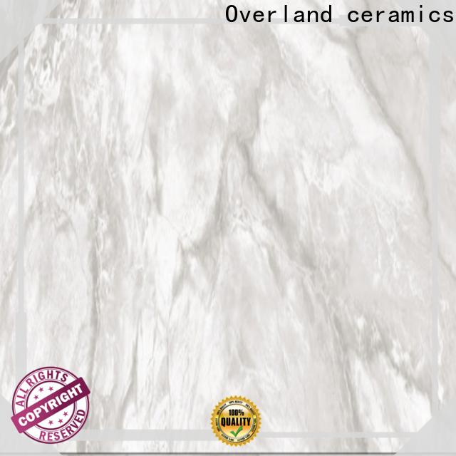 Overland ceramics black and white marble floor tiles for sale for bedroom