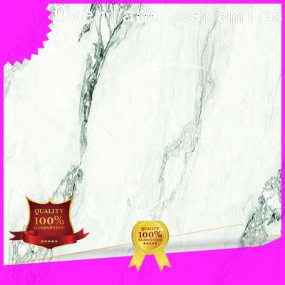 Overland ceramics cusotm square marble tile supplier for Villa