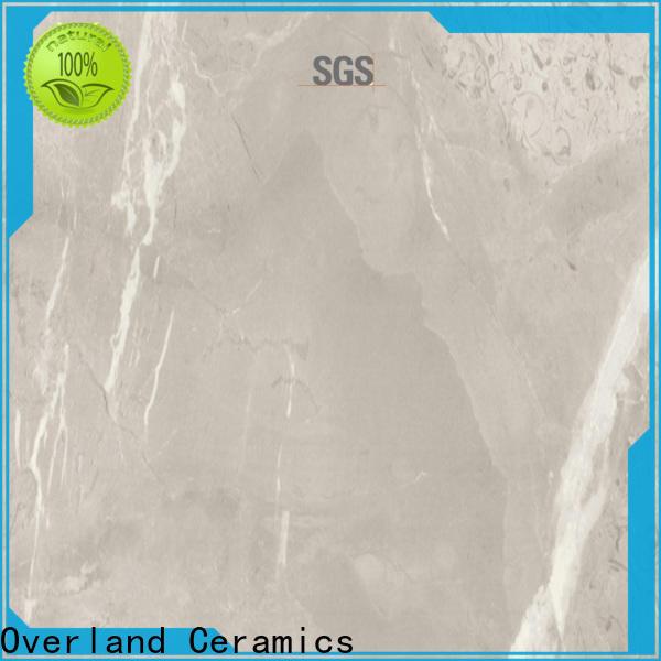 Overland ceramics high quality marble tile backsplash design for Villa