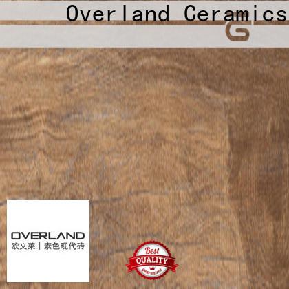 Overland ceramics wholesale wood tile supplier for bathroom