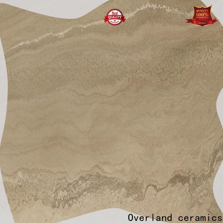 Overland ceramics wholesale sahara sand tile design for apartment