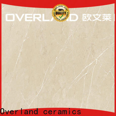 Overland ceramics cusotm silver tile price for garden