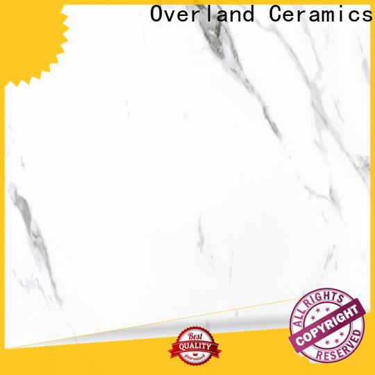 Overland ceramics cusotm carrara tiles supplier for apartment