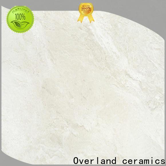 Overland ceramics cusotm marble tiles design promotion for hotel