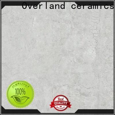 Overland ceramics glazed grey kitchen floor tiles factory for apartment