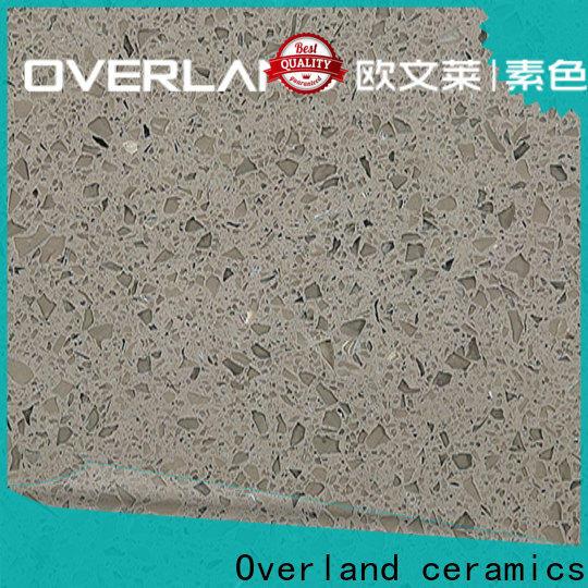 Overland ceramics best gray quartz countertops supplier for kitchen