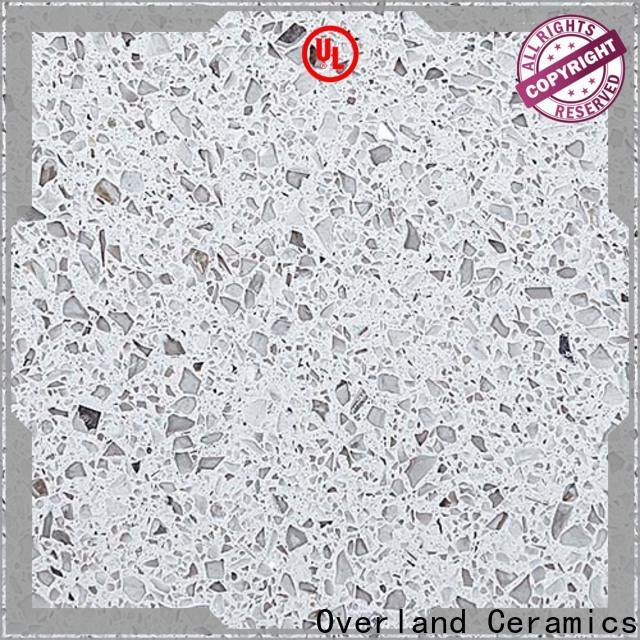 Overland ceramics quartz stone worktop design for apartment