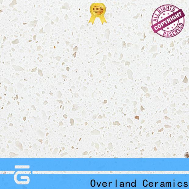 Overland ceramics cusotm gloss laminate worktop supplier for bathroom