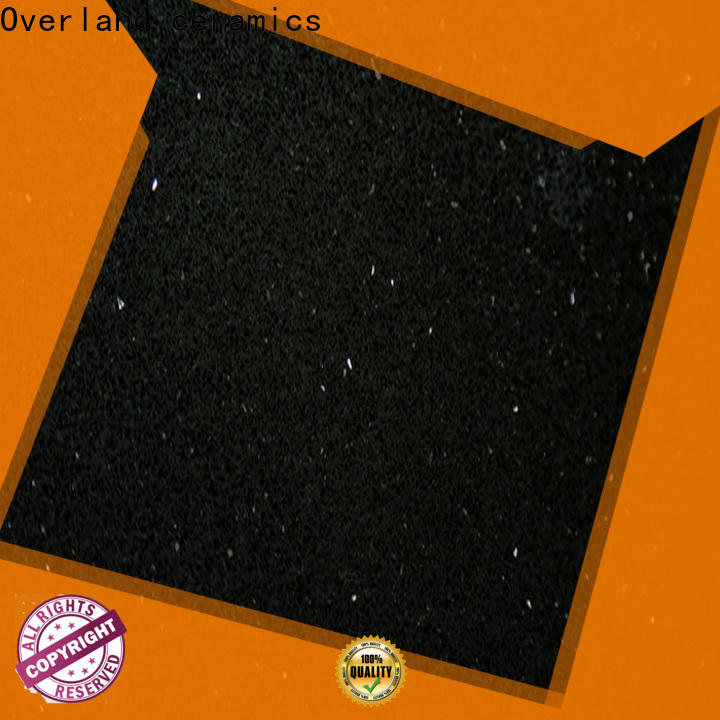 wholesale black quartz worktop manufacturers for hotel