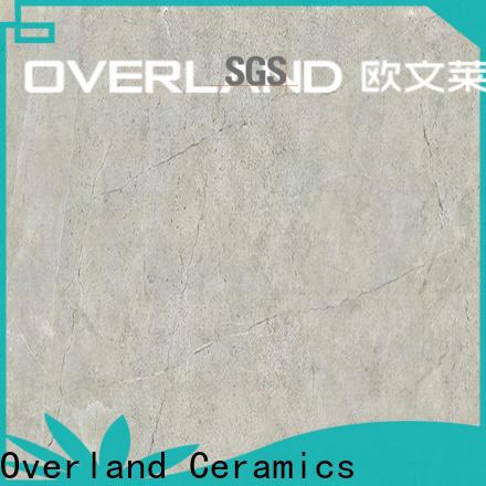 Overland ceramics natural marble tiles design supplier for home